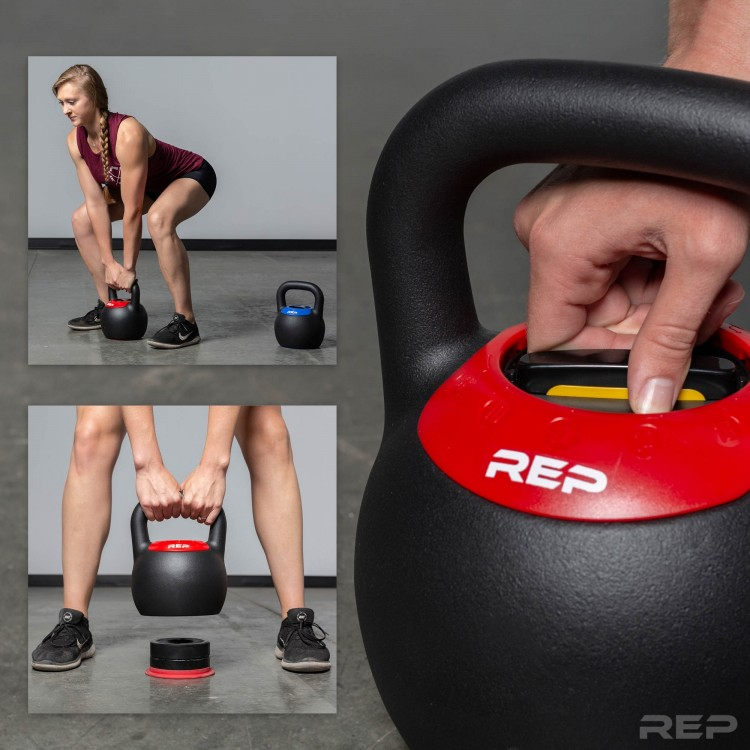 adjustable kettlebells for your compact home gym