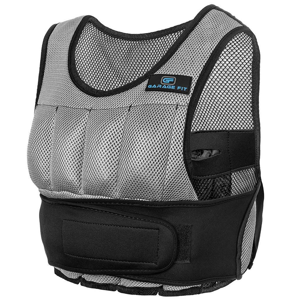 weight vest - home gym compact equipment